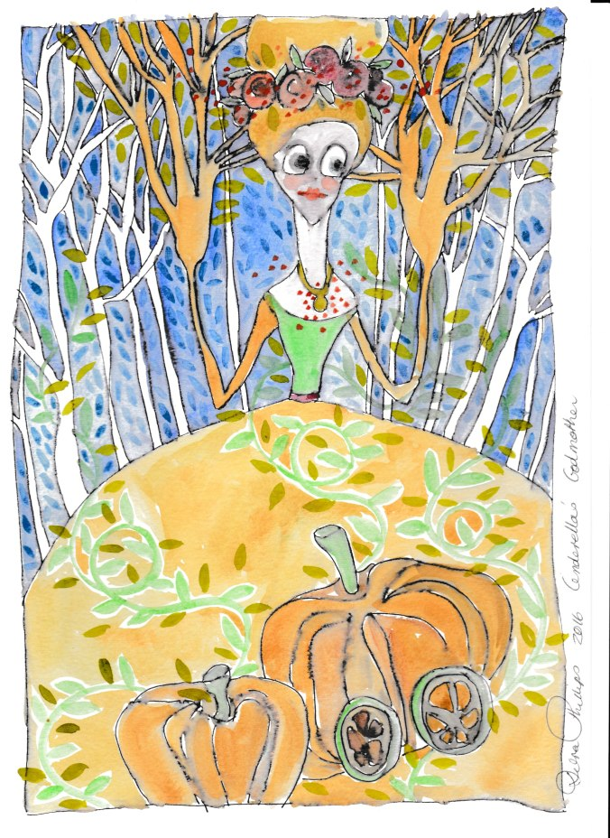 Deb's Art 19 - Cinderella's Godmother