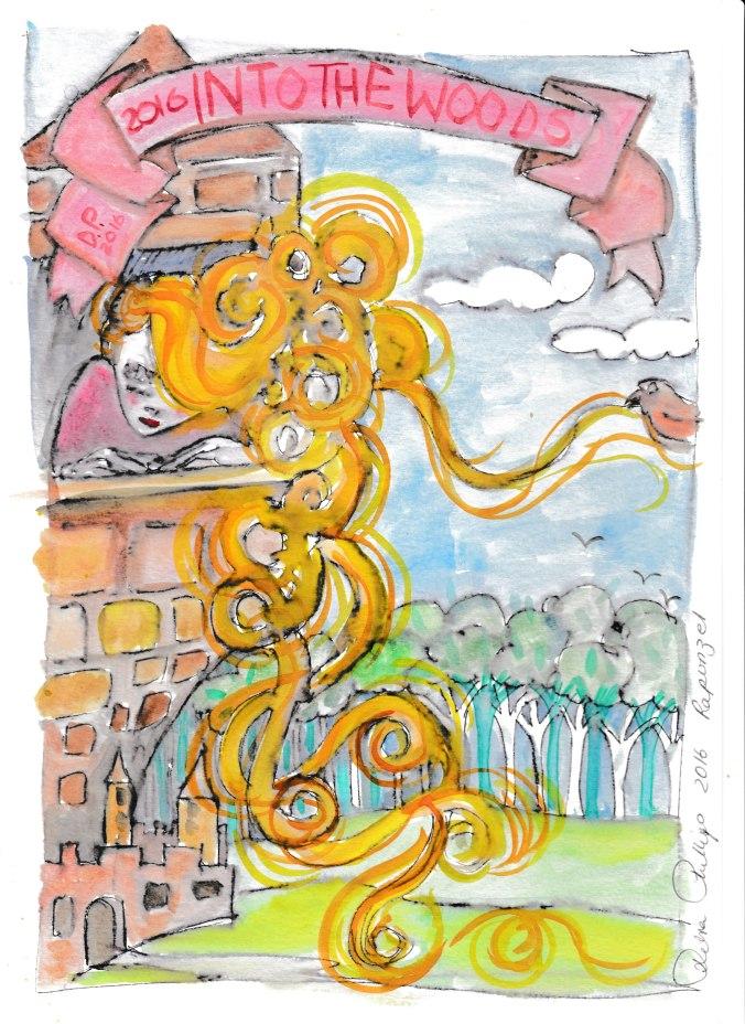 Deb's Art 9 - Rapunzel