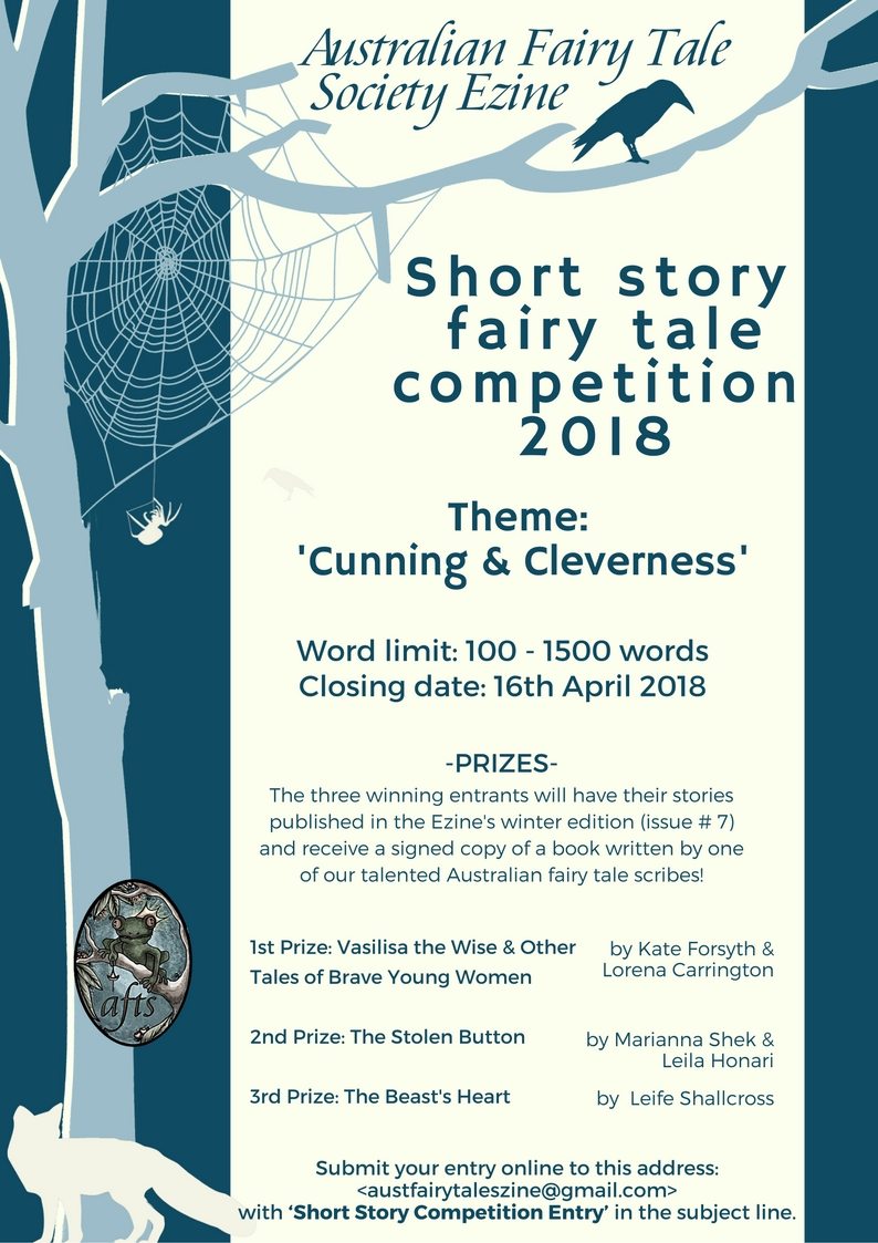 Ezine Short Story Competition | Australian Fairy Tale Society