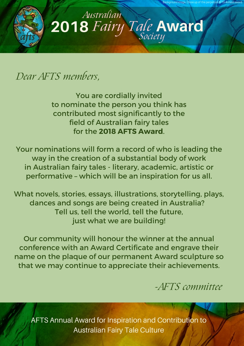 2018 AFTS Award member invitation with guidelines web (1)
